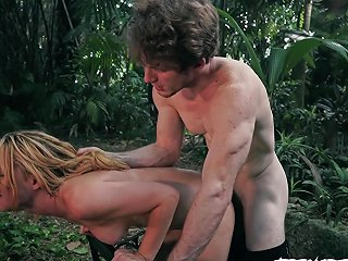 Innocent Young Teen Abused By Psycho Stranger In Forest
