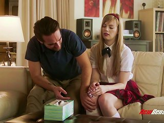 Naughty Schoolgirl Dolly Leigh Wanted To Get Fucked So She Did