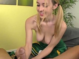 Teen Cheerleader Tugging Pov Cock In Uniform Free Porn 47